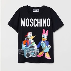 Moschino & HM black Mickey Tee